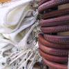 latigo leather mast hoops