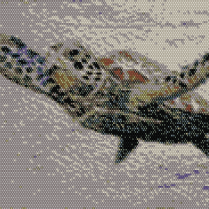 Sea Turtle Beading Pattern