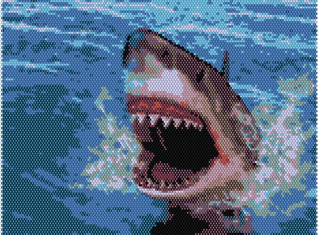 Shark Beading Pattern