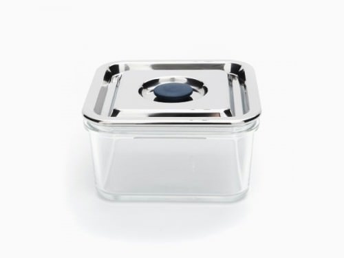 Onyx Containers Airtight Glass And Stainless Steel For Food