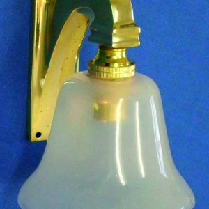 Davey & Company Brass Electric Lamp