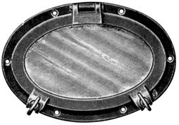 Davey & Company Oval Opening Portlight