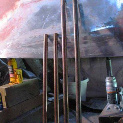 custom bronze keel bolts