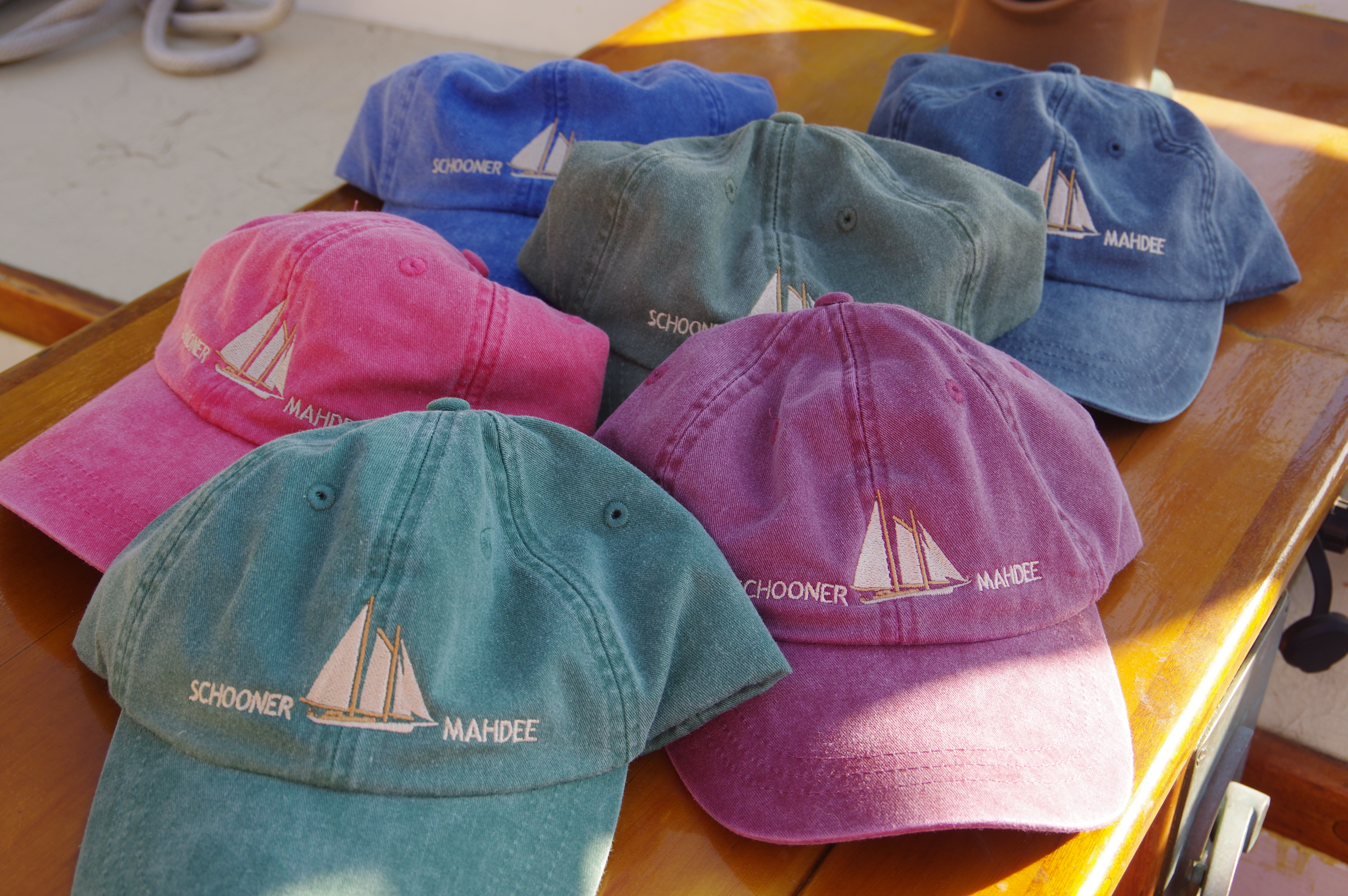 a5f08c101c3 Schooner Embroidered Pigment Dyed Hat by Adams