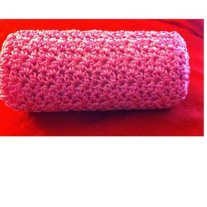 5″x12″ Fender Cover. Shown in Pink, Traditional Weave. Single Weave and other colors also available. Includes its own core.