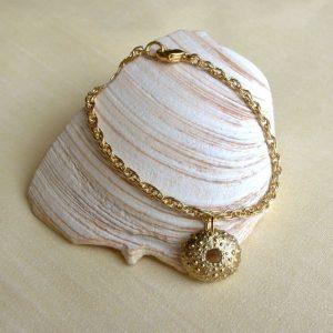 Brass Sea Urchin Bracelet