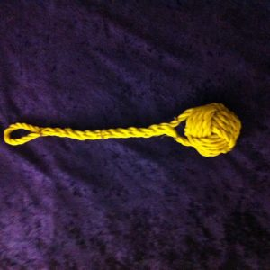 Monkey Fist. Made to be used.