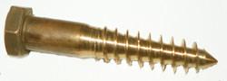 Hex Head Silicon Bronze Lag Bolts