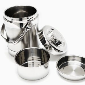 Onyx Stainless Steel 1.8 L Tiffin Food Storage Container