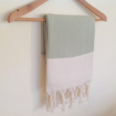 Elegant Organic Turkish Towel, Peshtemal, bath, spa, Natural soft cotton,  Gift for mother, Special Production, Handwoven , Light green