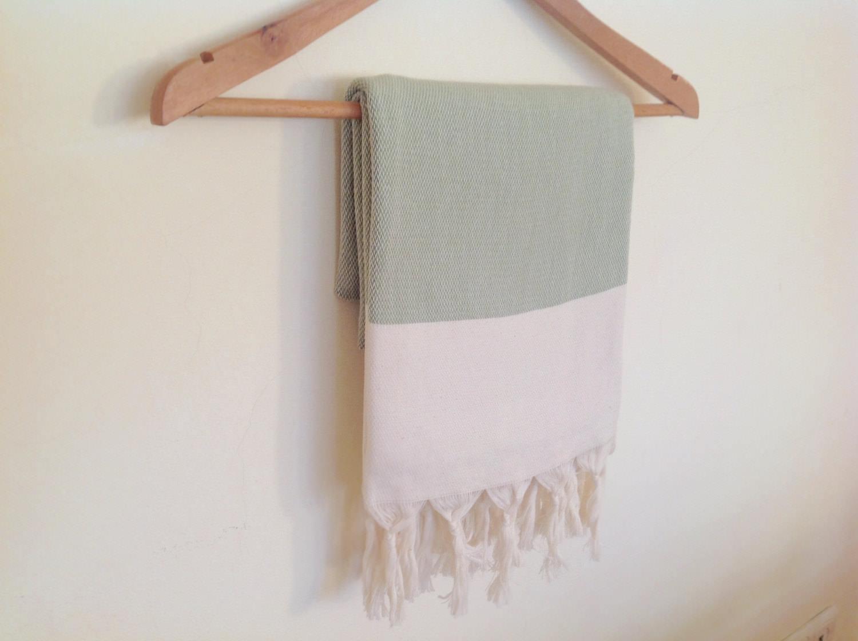 Elegant Organic Turkish Towel, Peshtemal