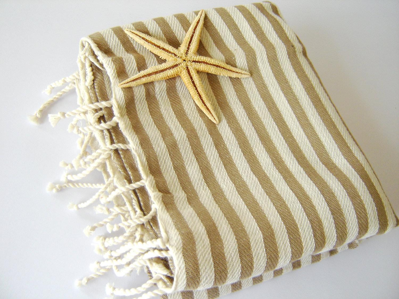 Turkish Bath Towel: Handwoven Peshtemal, Bath