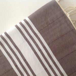 Gift for Men, Turkish Towel home-garden / bath-beauty Peshtemal , Natural Cotton Beach Towel, for him, Elegant, man, dads, gray, grey,
