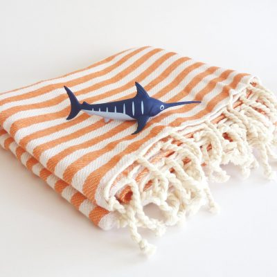 Eco friendly Natural Turkish Towel, Peshtemal, beach towel, bath towel, pareo, sarong, yoga, Spa, orange color, gift, mother's day