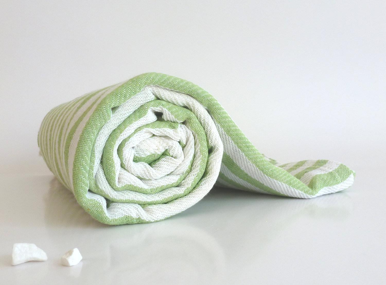 SALE Set Of 2 Turkish Bath Towel: Peshtemal, Light And
