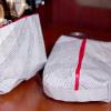 Recycled Racing Sailcloth Makeup/Shaving Bag Pair