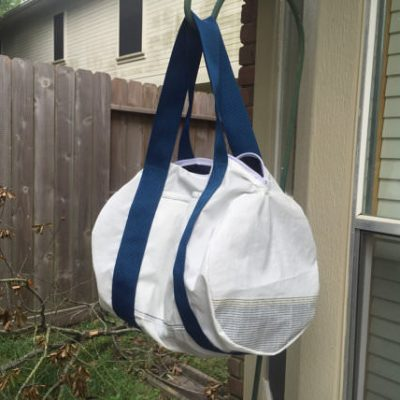 Recycled Sailcloth Duffel Bag 2