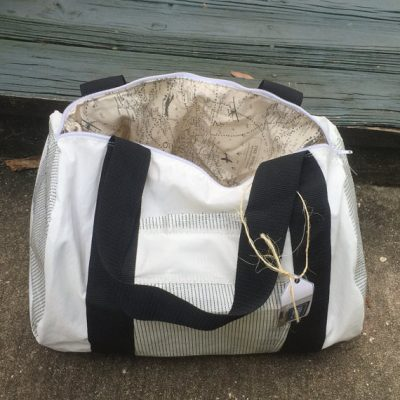 Recycled Sailcloth Duffel Bag 3