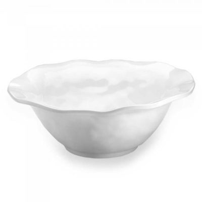 Q Squared NYC Ruffle Round Serving Bowl