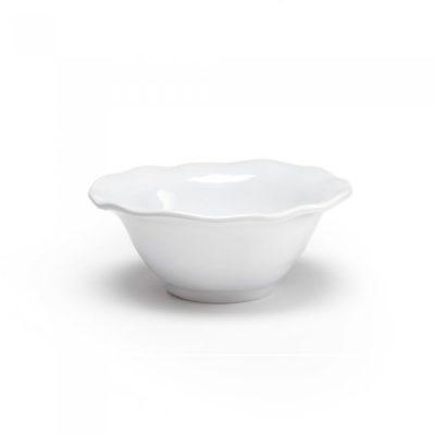 Q Squared NYC Ruffle Round Dip Bowl