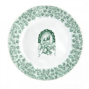 Q Squared NYC Yuletide Dinner Plate