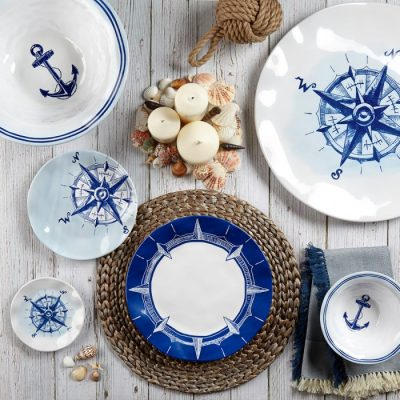 Q Squared NYC Portsmouth 12pc Melamine Dinnerware Set