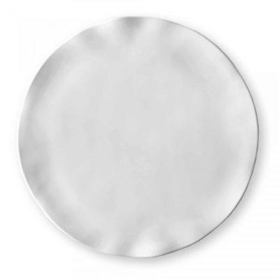 Q Squared NYC Round Ruffle Platter