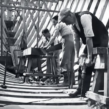 British Boatbuilding in the 1940s