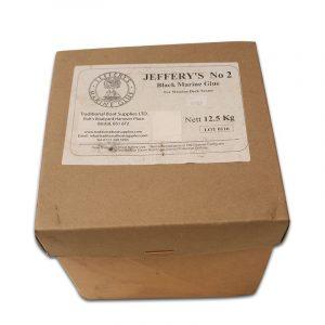 Davey & Company Jeffery's No.2 Black Marine Glue