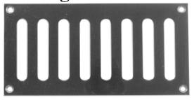 Davey & Company Ventilators - Oblong Slot
