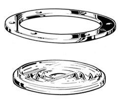 Davey & Company Deck Prism - Round