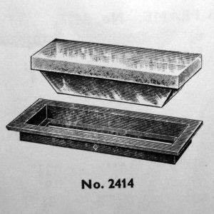 Davey & Company Deck Prism, Deep Frame - Oblong