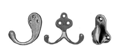 Davey & Company Brass Hooks