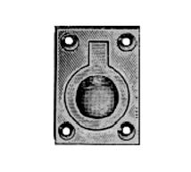Davey & Company Flush Rings - Rectangular