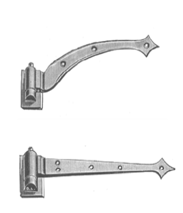 Davey & Company Hook & Ride Hinges