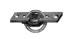 Davey & Company Brass Drop Rings