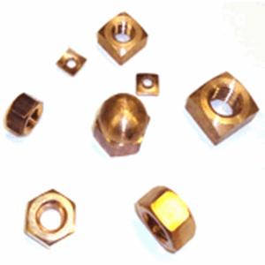Silicon Bronze PM Nuts