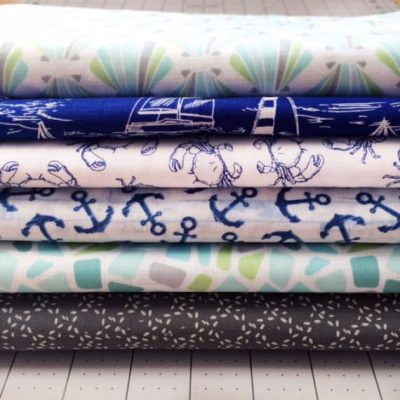 Coastal Towels – Waffle Weave With Sea Glass or Sea Shells! Makes a beautiful towel set together! (Copy)