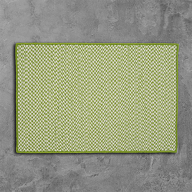 Colonial Mills Outdoor Houndstooth Tweed Rugs Collection
