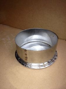 6 Inch Stainless Steel Stove Pipe Tee Cap Made in Maine, USA!!****