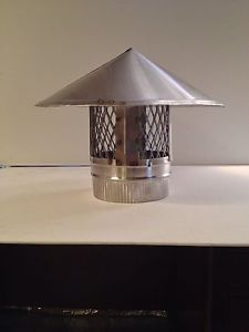 5 inch stove pipe Stainless Steel Chimney Cap Made in Maine, USA!!****
