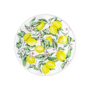 Q Squared NYC Limonata Salad Plate