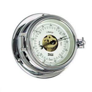 Weems & Plath Endurance II 105 CHROME Open Dial Barometer