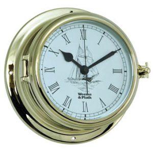 Weems & Plath Endurance II 135 Quartz Clock w/Ship Graphics