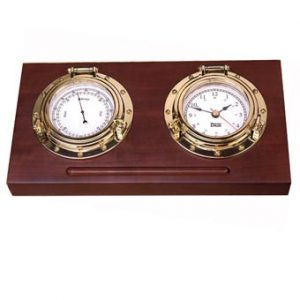 Weems & Plath Porthole Desk Set