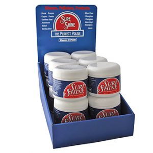 Weems & Plath Sure Shine (case of 12 - 7oz. jars) Extra OUNCE!