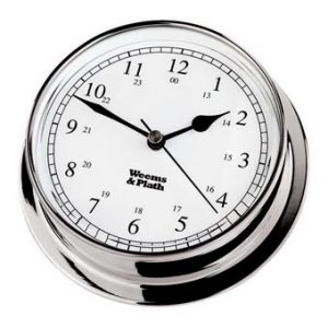 Weems & Plath Chrome Endurance 085 Clock