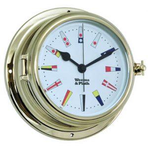 Weems & Plath Endurance II 135 Quartz Clock 12 hour Flag dial