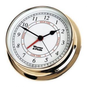 Weems & Plath Brass Endurance 125 Time & Tide Clock