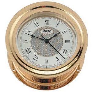 Weems & Plath Anniversary Quartz Ship's Bell Clock